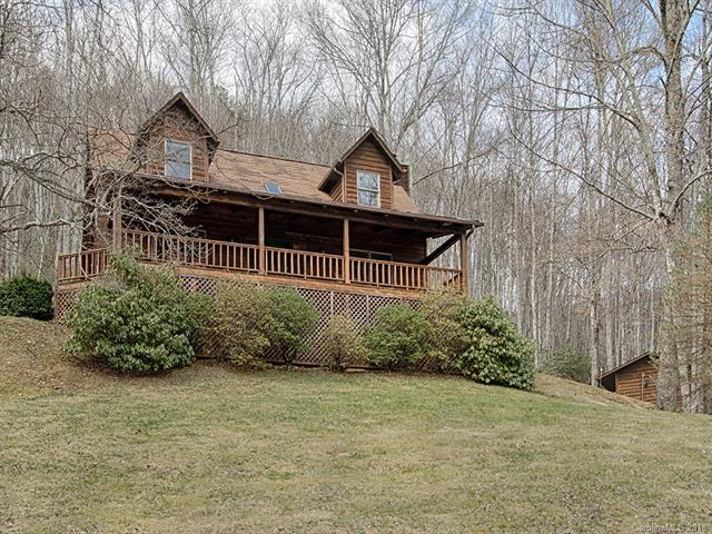 125 Sound Vista Lane, Maggie Valley, NC 28751 (#3367954) :: Mossy Oak Properties Land and Luxury