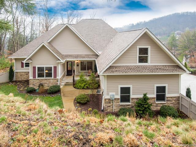 162 Twin Courts Drive, Weaverville, NC 28787 (#3368710) :: LePage Johnson Realty Group, LLC