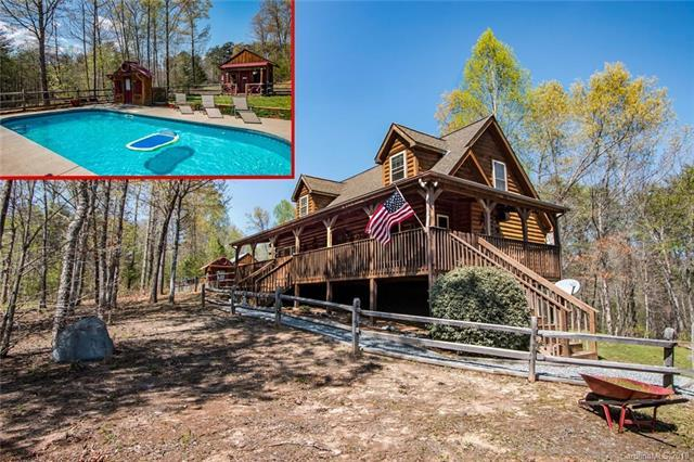 303 Rock Ridge Road, Mill Spring, NC 28756 (#3369950) :: Puffer Properties