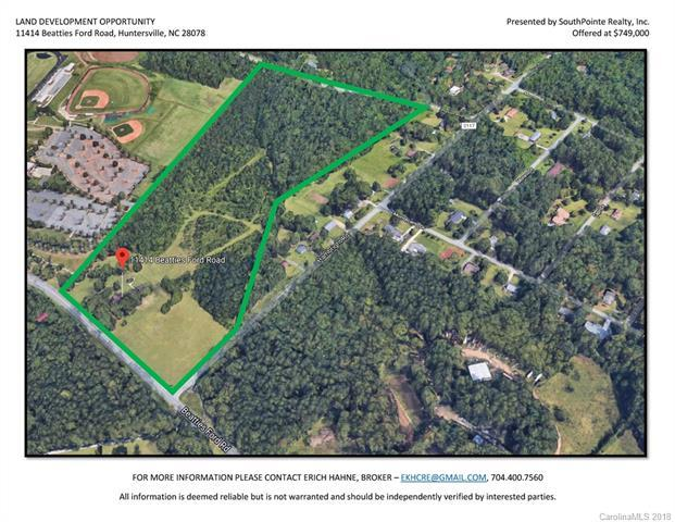 11414 Beatties Ford Road, Huntersville, NC 28078 (#3371908) :: Puma & Associates Realty Inc.