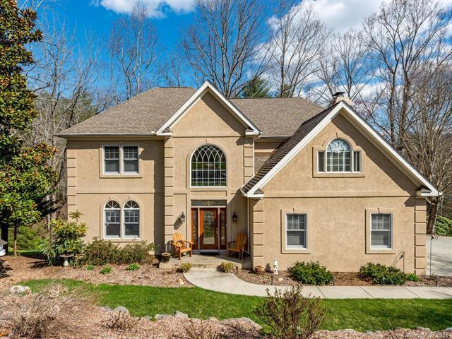80 Hillcrest Drive, Weaverville, NC 28787 (#3373182) :: High Performance Real Estate Advisors