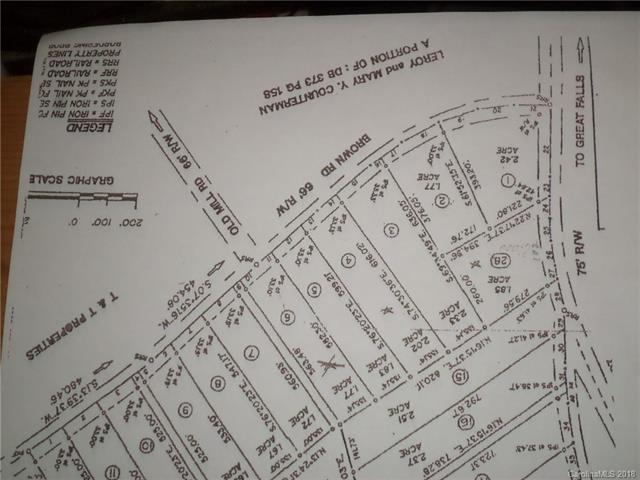 none Brown Road Lot 4, Chester, SC 29706 (#3374730) :: Mossy Oak Properties Land and Luxury