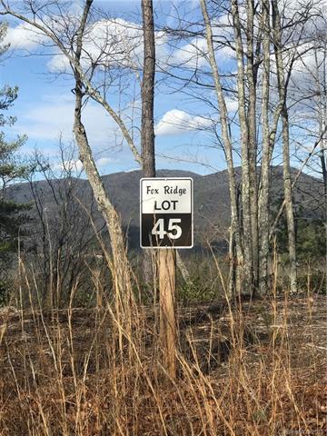 00 Fox Ridge Trail L 45, Marion, NC 28752 (#3378008) :: Puffer Properties