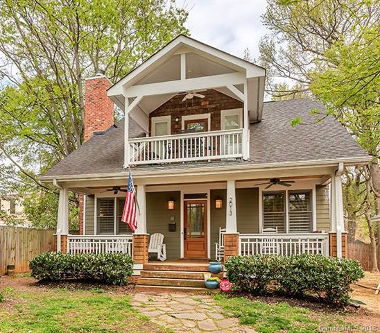 2013 Chesterfield Avenue, Charlotte, NC 28205 (#3378607) :: High Performance Real Estate Advisors