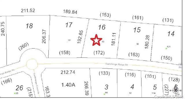 63 Cummings Ridge Trail #16, Hendersonville, NC 28739 (#3380806) :: Puffer Properties