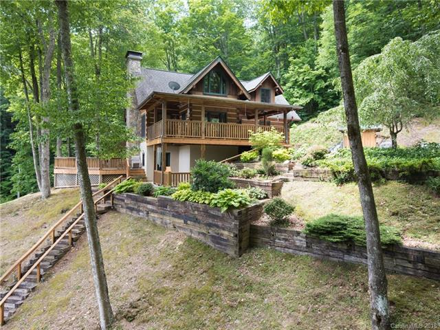 96 Boyd Mountain Road, Waynesville, NC 28785 (#3382324) :: The Elite Group