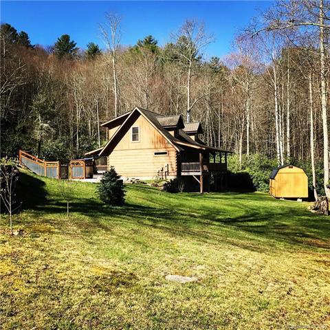 36 Flossie Bell Lane, Waynesville, NC 28785 (#3383332) :: Exit Realty Vistas