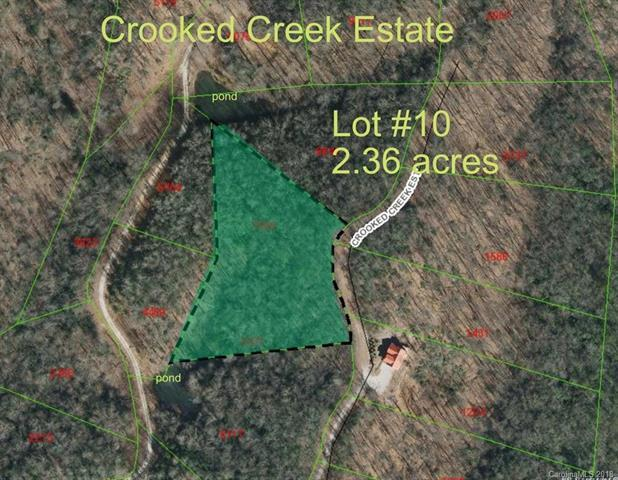 0 Crooked Creek Estates Drive #10, Old Fort, NC 28762 (#3383573) :: High Performance Real Estate Advisors