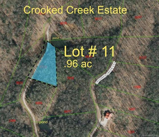 00 Crooked Creek Estates Drive #11, Old Fort, NC 28762 (#3383706) :: MartinGroup Properties
