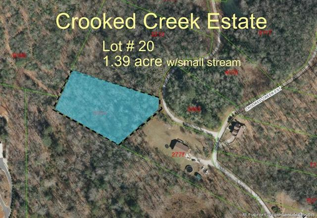 0 Crooked Creek Estates Drive #20, Old Fort, NC 28762 (#3383722) :: MartinGroup Properties