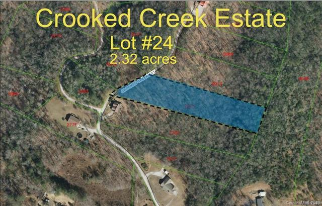 0 Crooked Creek Estates Drive #24, Old Fort, NC 28762 (#3383768) :: High Performance Real Estate Advisors