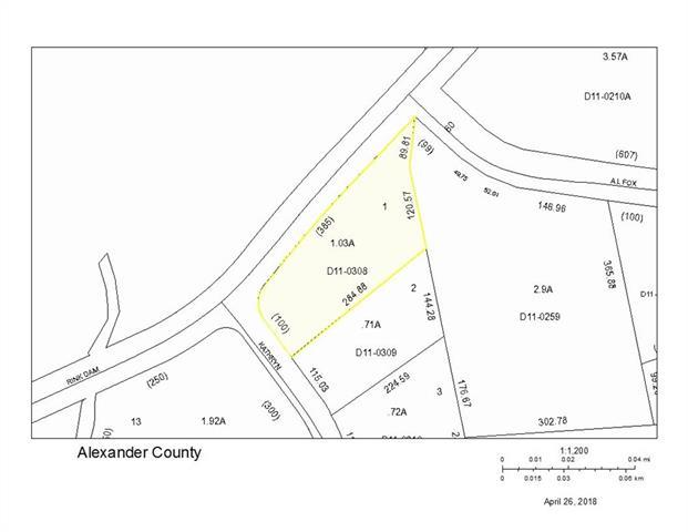 Lot 1 Kathryn Lane, Taylorsville, NC 28681 (#3386294) :: Exit Mountain Realty