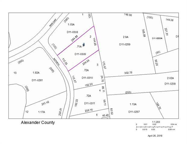 Lot 2 Kathryn Lane, Taylorsville, NC 28681 (#3386322) :: Exit Mountain Realty