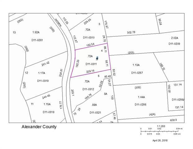 Lot 4 Kathryn Lane, Taylorsville, NC 28681 (#3386348) :: Exit Mountain Realty