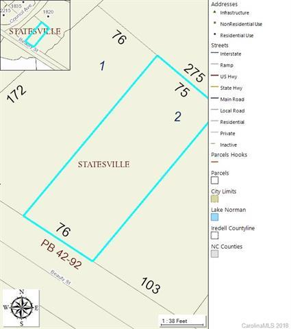Lot 2 Beauty Street, Statesville, NC 28625 (#3389302) :: MECA Realty, LLC
