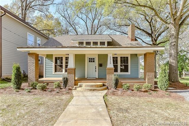 1312 Kennon Street, Charlotte, NC 28205 (#3394965) :: Odell Realty Group