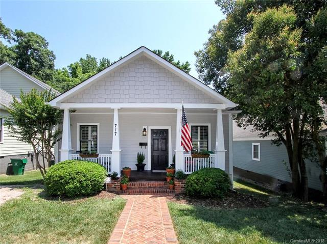 717 E 37th Street, Charlotte, NC 28205 (#3395376) :: High Performance Real Estate Advisors