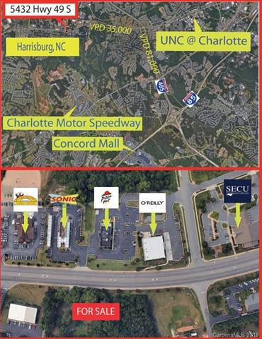 5432 Hwy 49 South, Harrisburg, NC 28075 (#3406901) :: Exit Mountain Realty