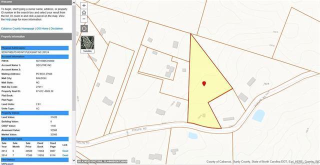 9339 Phelps Road, Mount Pleasant, NC 28124 (#3409348) :: Team Honeycutt