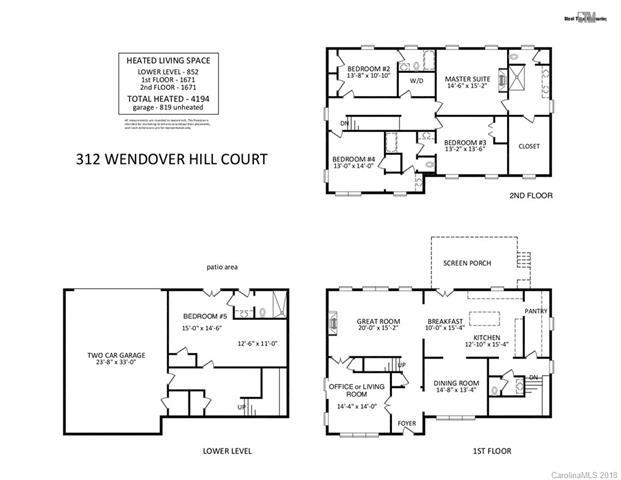 312 Wendover Hill Court, Charlotte, NC 28211 (#3413178) :: The Temple Team
