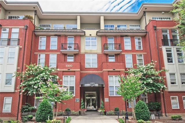 1320 Fillmore Avenue #102, Charlotte, NC 28203 (#3424715) :: Caulder Realty and Land Co.
