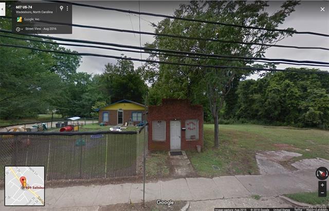 609 Salisbury Street, Wadesboro, NC 28170 (#3425527) :: Washburn Real Estate