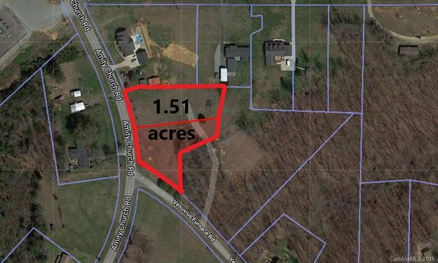 1.51 acres Amity Church Road 2 & 3, Iron Station, NC 28080 (#3427183) :: High Performance Real Estate Advisors