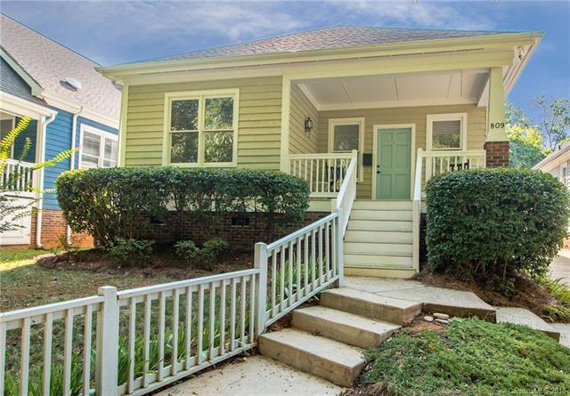 809 Woodruff Place, Charlotte, NC 28208 (#3428768) :: High Performance Real Estate Advisors