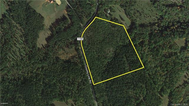 21.18 Ac County Line Road Tract 2A, Rutherfordton, NC 28139 (#3429475) :: LePage Johnson Realty Group, LLC