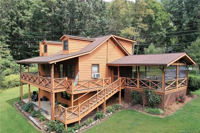 263 Laurel Branch Road, Maggie Valley, NC 28751 (#3434998) :: Exit Mountain Realty