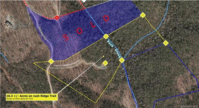 10.3+ Acres on Rush Ridge Trail, Fairview, NC 28730 (#3438921) :: Keller Williams Biltmore Village