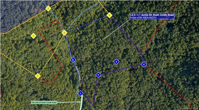 12.5+ Acres on Rush Creek Road, Fairview, NC 28730 (#3438931) :: Keller Williams Biltmore Village