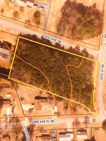 0 28th Street NE Lot 1-8 Pl 9-49, Hickory, NC 28601 (#3443004) :: Odell Realty