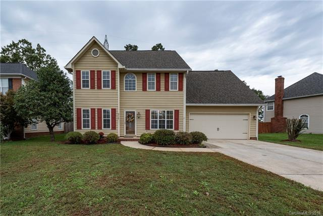 3115 Ashe Croft Drive, Indian Trail, NC 28079 (#3444319) :: The Ramsey Group