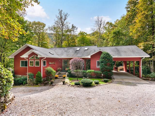 239 Winding Creek Drive, Waynesville, NC 28786 (#3445313) :: Team Southline