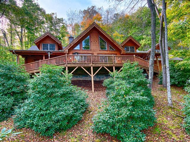 121 Adohi Trail, Maggie Valley, NC 28751 (#3446634) :: High Performance Real Estate Advisors