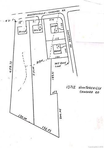 13712 Huntersville Concord Road, Huntersville, NC 28078 (#3453506) :: LePage Johnson Realty Group, LLC