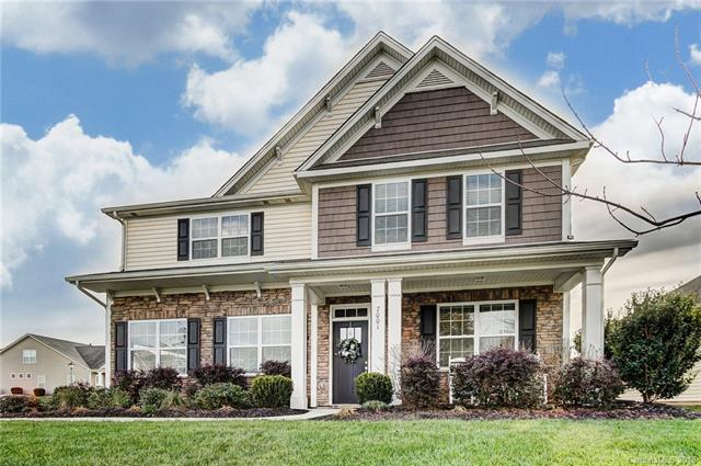 7001 Fountainbrook Drive, Indian Trail, NC 28079 (#3457341) :: The Ramsey Group