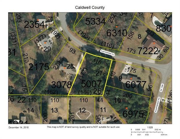 0 Alexander Place #27, Granite Falls, NC 28630 (#3458877) :: Mossy Oak Properties Land and Luxury
