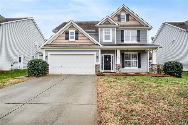 1027 Coulwood Lane, Indian Trail, NC 28079 (#3460092) :: High Performance Real Estate Advisors