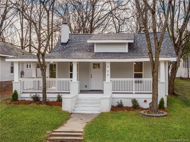 908 Parkwood Avenue, Charlotte, NC 28205 (#3460336) :: Stephen Cooley Real Estate Group