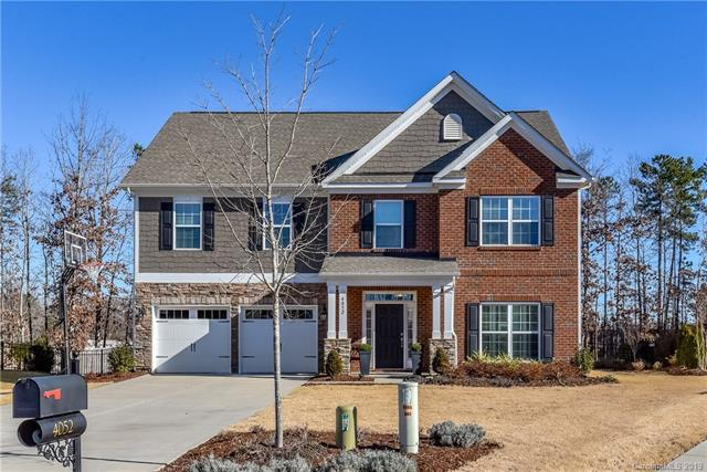 4052 Franklin Meadows Drive, Matthews, NC 28105 (#3467312) :: The Ramsey Group