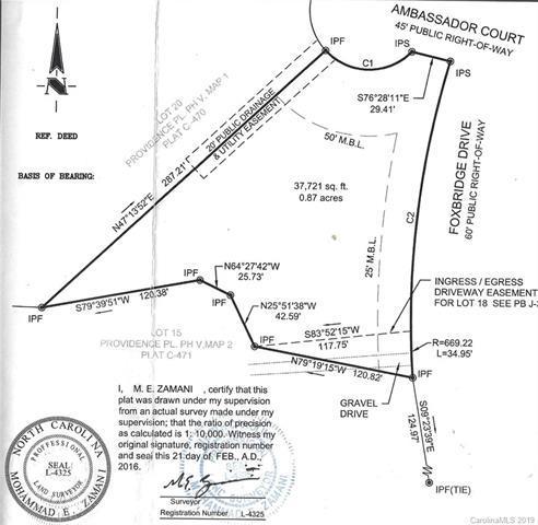 19 Ambassador Court, Matthews, NC 28104 (#3468426) :: LePage Johnson Realty Group, LLC