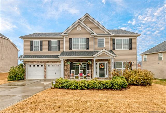 8613 Warwick Lane, Harrisburg, NC 28075 (#3471316) :: Odell Realty
