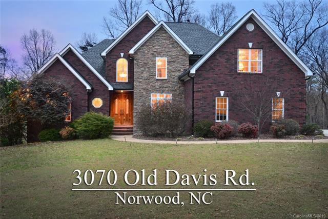 3070 Old Davis Road, Norwood, NC 28128 (#3472285) :: High Performance Real Estate Advisors