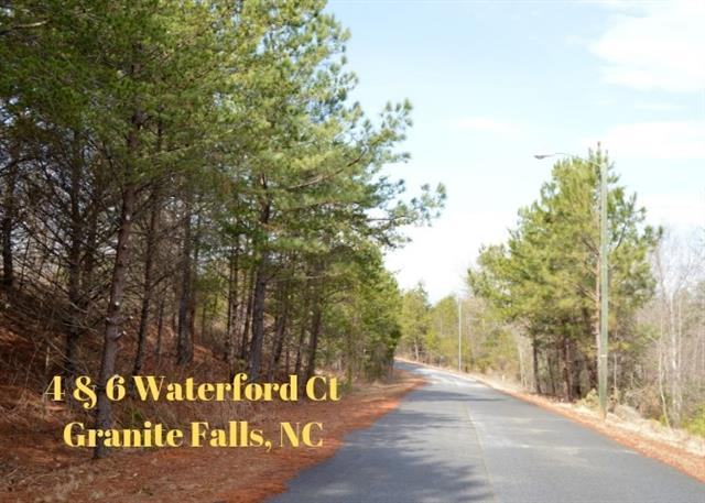 4 & 6 Waterford Court, Granite Falls, NC 28630 (#3473844) :: Team Honeycutt
