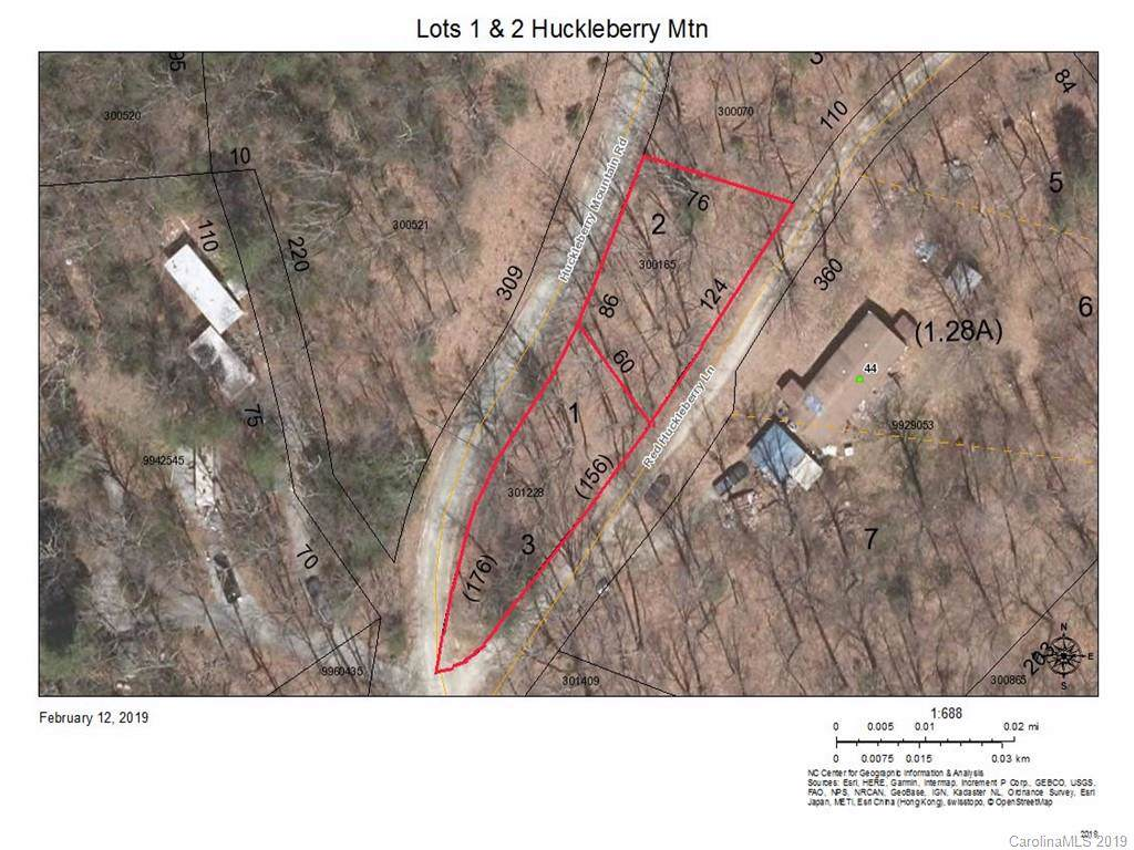 Lots 1 and 2 Huckleberry Mountain Road - Photo 1