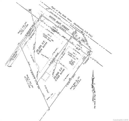0 S Main Street Lot 2, Troutman, NC 28166 (#3476661) :: Odell Realty