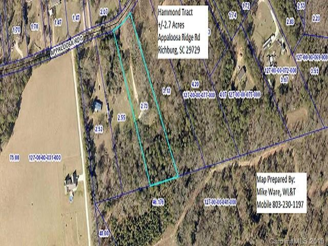 2.7 Acres Appaloosa Ridge Road, Richburg, SC 29729 (#3477342) :: Jaxson Team | Keller Williams