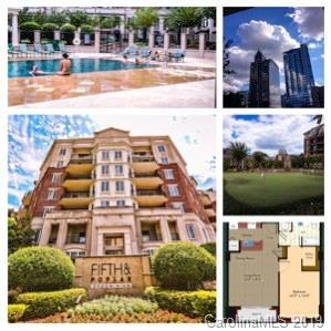 300 W 5th Street #219, Charlotte, NC 28202 (#3477778) :: Stephen Cooley Real Estate Group